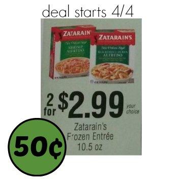 zatarain's frozen meal publix