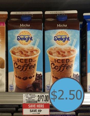 ID iced coffee publix