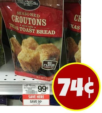 Mrs. Cubbison's Crouton Deal at Publix – Just 74¢