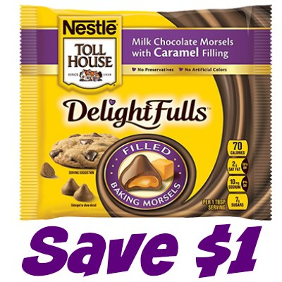 NESTLÉ® TOLL HOUSE® DelightFulls™ Filled Morsels