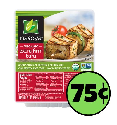 Publix! With the coupon you get each package of tofu for just 75