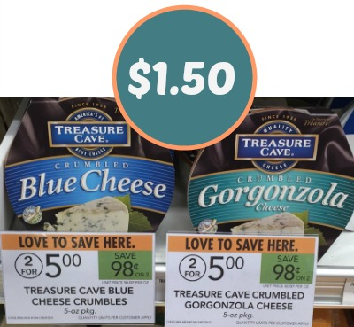 Treasure Cave Cheese Coupon To Print - $1.50 At Publix