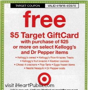 target coupons kellogg's