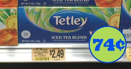 tetley tea publix