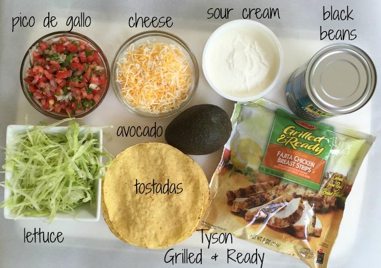 tostadas ingredients