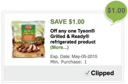 tyson grilled & ready Publix coupon