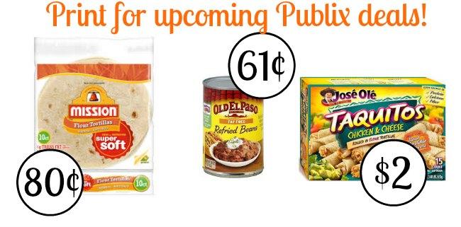 upcoming publix deals