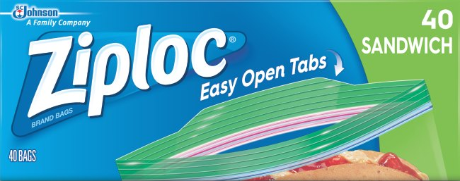 ziploc easy open