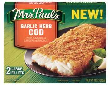 Garlic-Herb-Cod