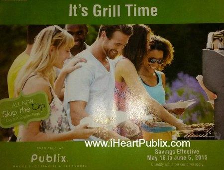 It's Grill Time Publix Advantage Buy Flyer
