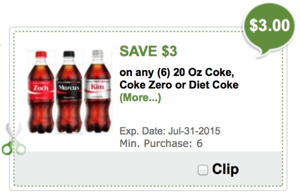 free coke zero coupons
