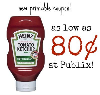 heinz ketchup publix
