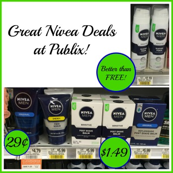 Better Than FREE Nivea Shaving And Face Care Products At Publix