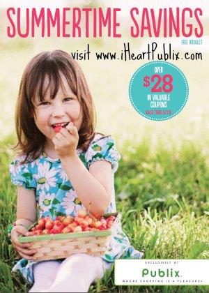 summertime savings booklet publix