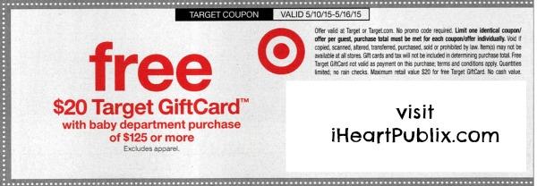 target coupon baby