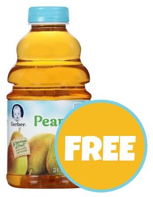Gerber Juice Deal - Free At Publix!