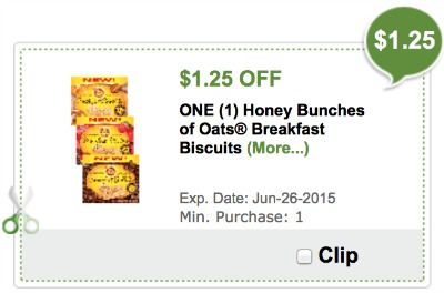 Honey Bunches Of Oats Breakfast Biscuits Publix