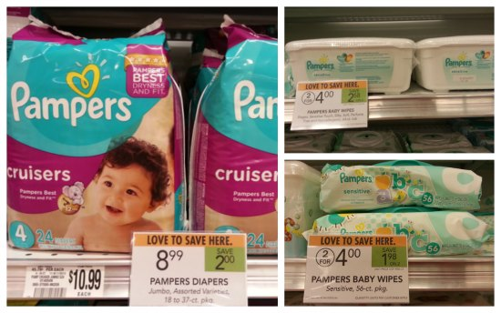 pampers diapers for baby