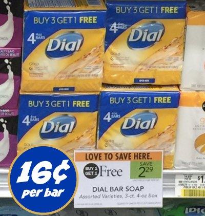 dial soap publix
