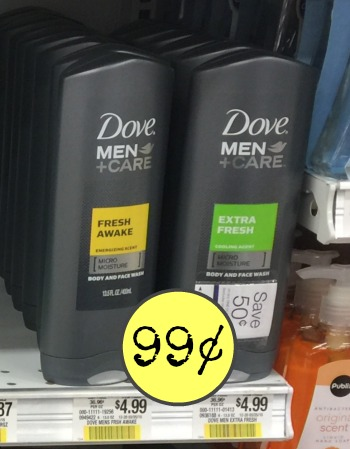 Dove Men+Care Coupons & SavingStar Offers – Cheap Body Wash & Deodorant At Publix!
