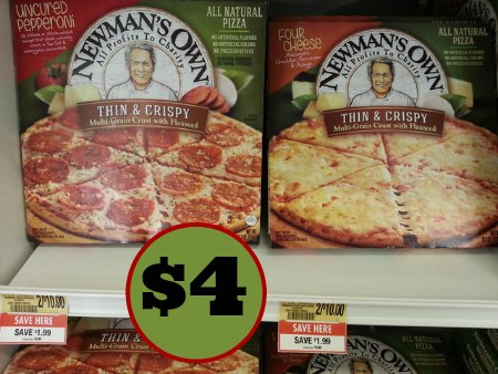 newman's own pizza publix