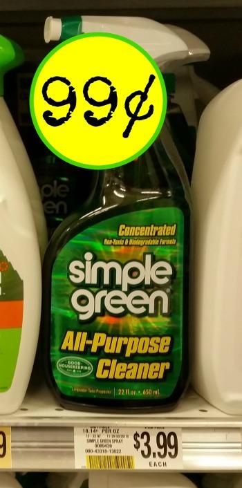 simple green spray