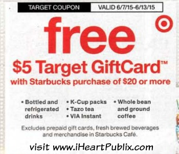 target coupon starbucks