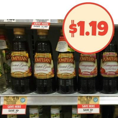 Pompeian Vinegar Coupon + Sale At Publix