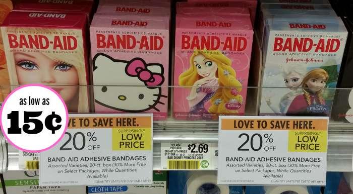 band aid publix