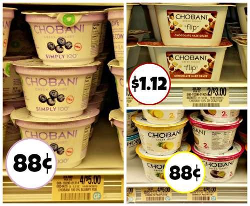 chobani yogurt publix