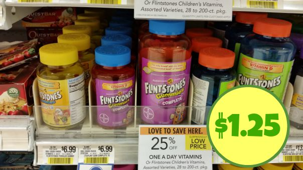flintstone vitamins publix