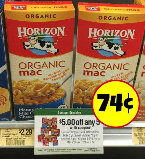 Horizon coupons