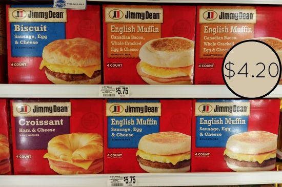 jimmy dean sandwiches publix