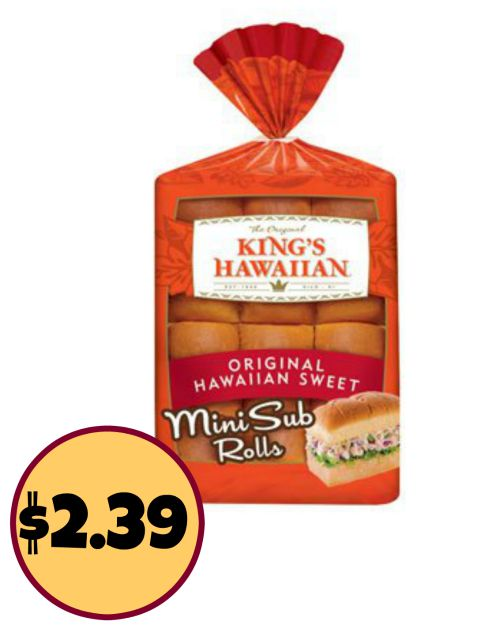king's hawaiian mini rolls