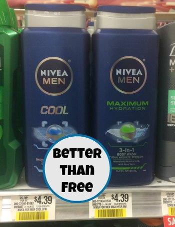 Nivea Body Wash - Better Than FREE At Publix
