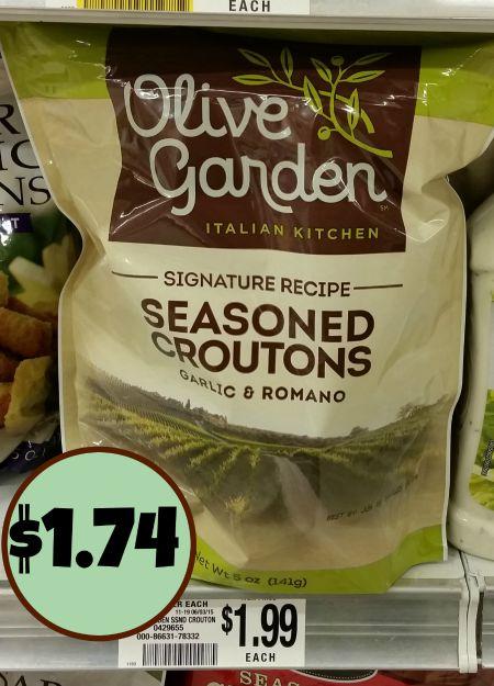 olive garden croutons