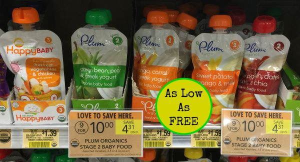 photo regarding Plum Organics Printable Coupon named Plum Organics Little one Foods - Cost-free With Coupon codes At Publix
