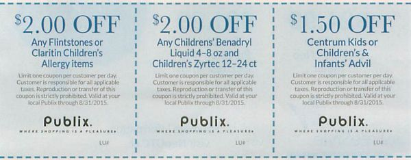 publix pharmacy booklet coupons
