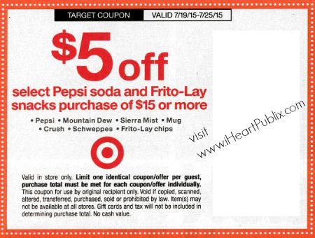 target coupon july