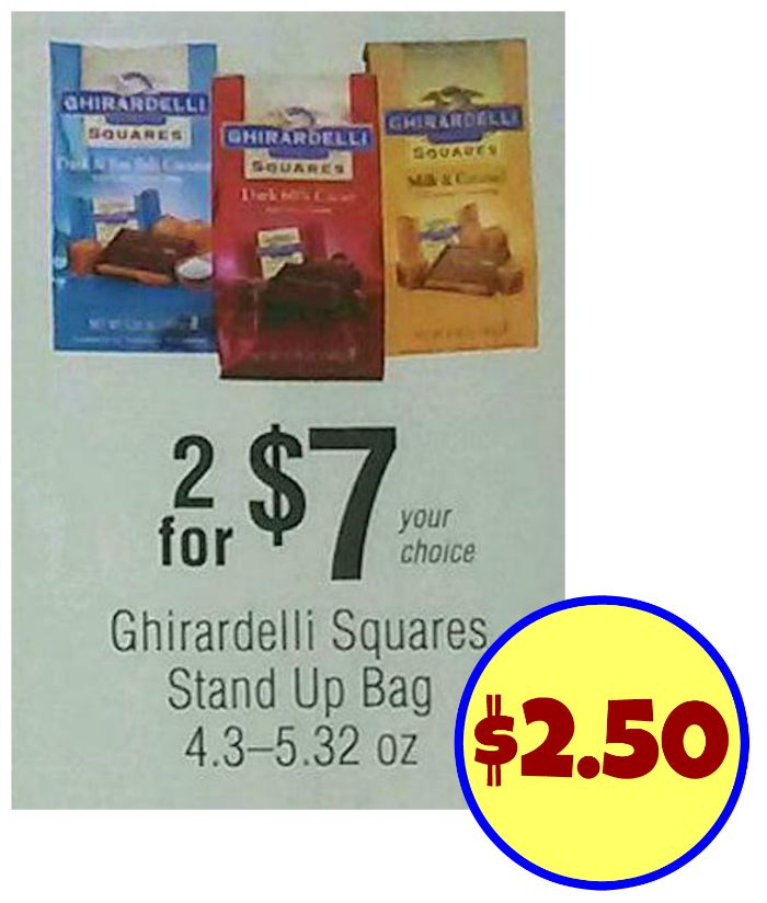 image about Ghirardelli Printable Coupon named Clean Ghirardelli Coupon - Wonderful Promotions At Publix