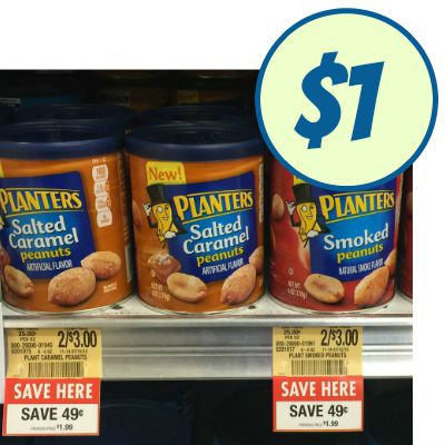 Great Deal On Planters Flavored Nuts At Publix