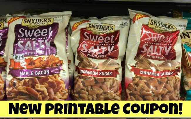 snyders pretzels coupons