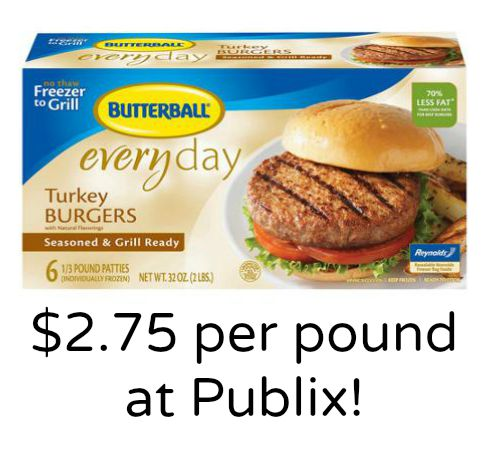 If you love Butterball Turkey Burgers, then you need this coupon! This deal is for Butterball Original Seasoned or Sweet Onion Seasoned Frozen Turkey Burgers. find this item at a store near you! The link below goes directly to the coupon. Butterball Turkey Burgers $1 Off.