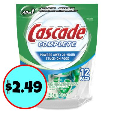 graphic relating to Cascade Coupons Printable referred to as Contemporary Cascade Coupon codes For Long term Publix Advert