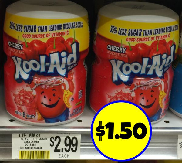 Grab A Sammie And A Kool Aid: BOGO Kool-Aid Canister Coupon- Just $1.50 At Publix