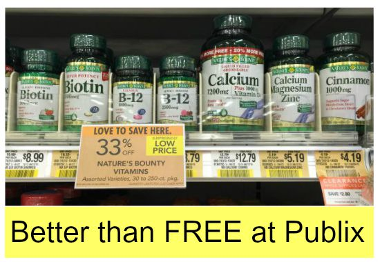 graphic regarding Nature's Bounty Coupon Printable named Clean Natures Bounty Nutrition Coupon - Improved Than Totally free As soon as
