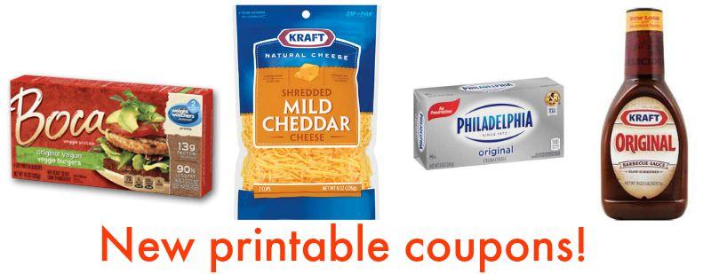 photo regarding Kraft Coupons Printable named Clean Printable Discount codes - Kraft Cheese, Philadelphia Product