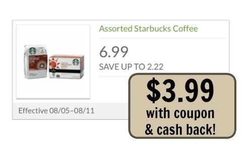 starbucks coffee coupon i heart publix