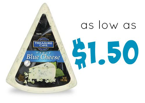 treasure cave blue cheese wedge publix