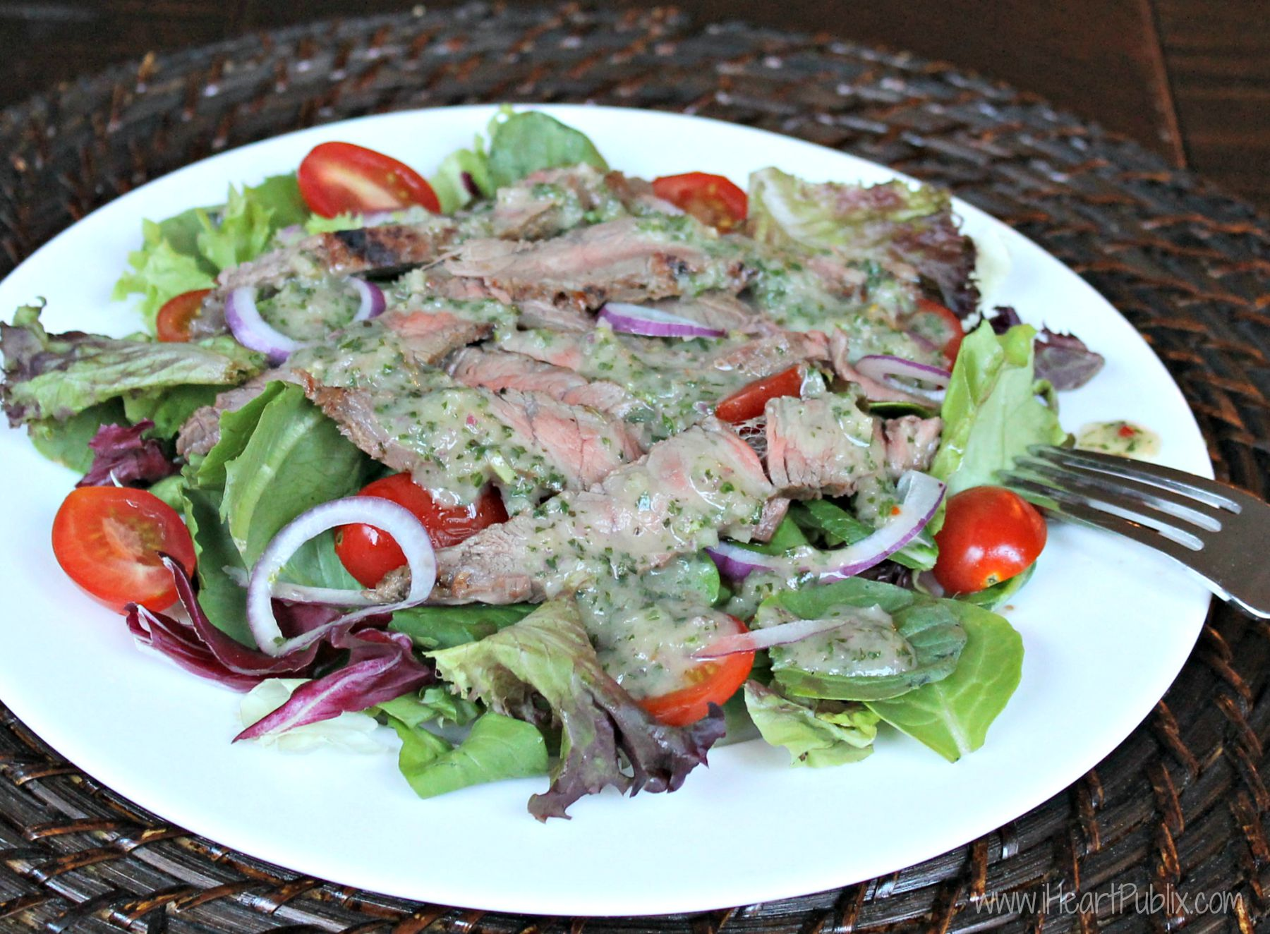 Caribbean Chimichurri Steak Salad - Perfect Weeknight ...